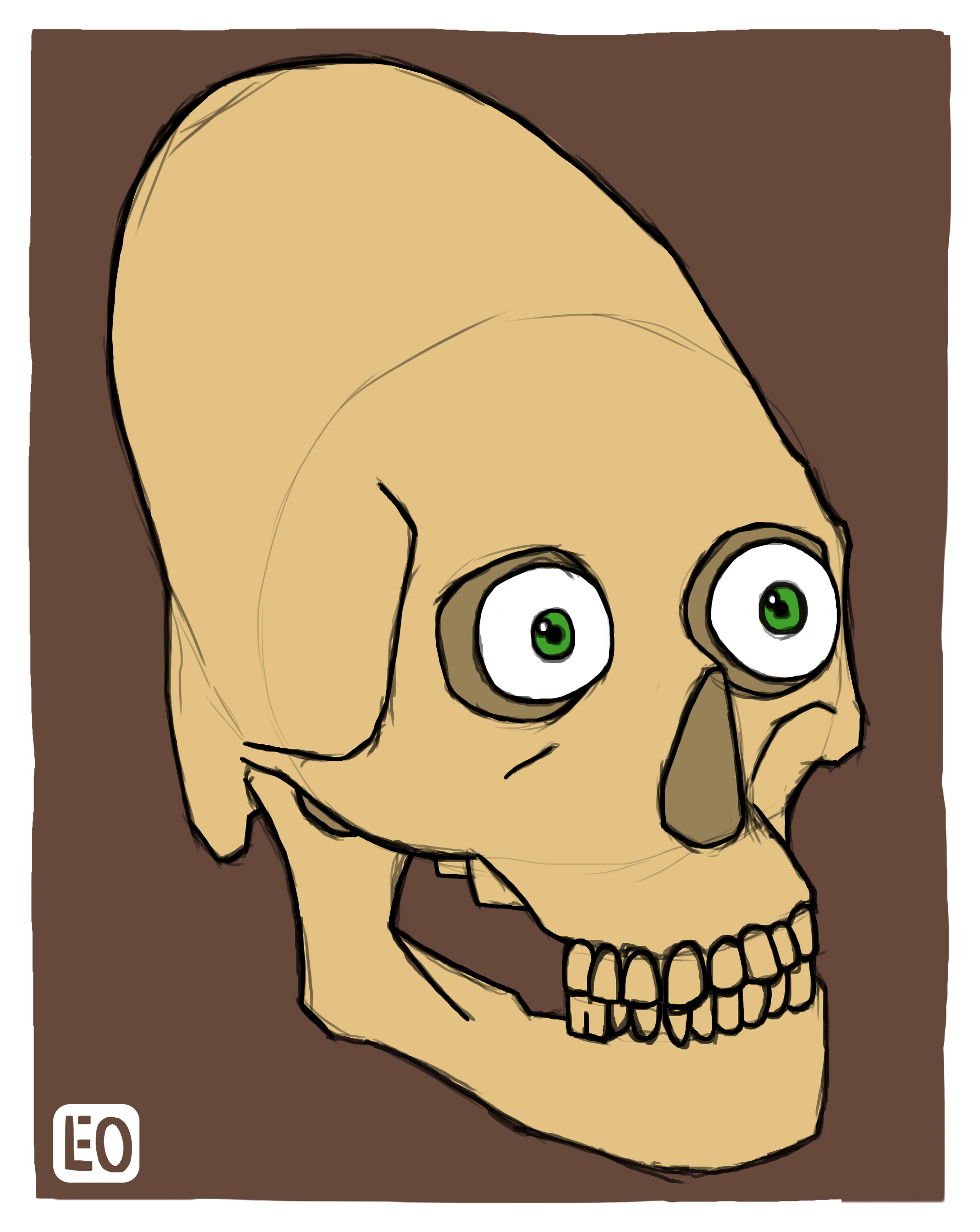 Maya Skull