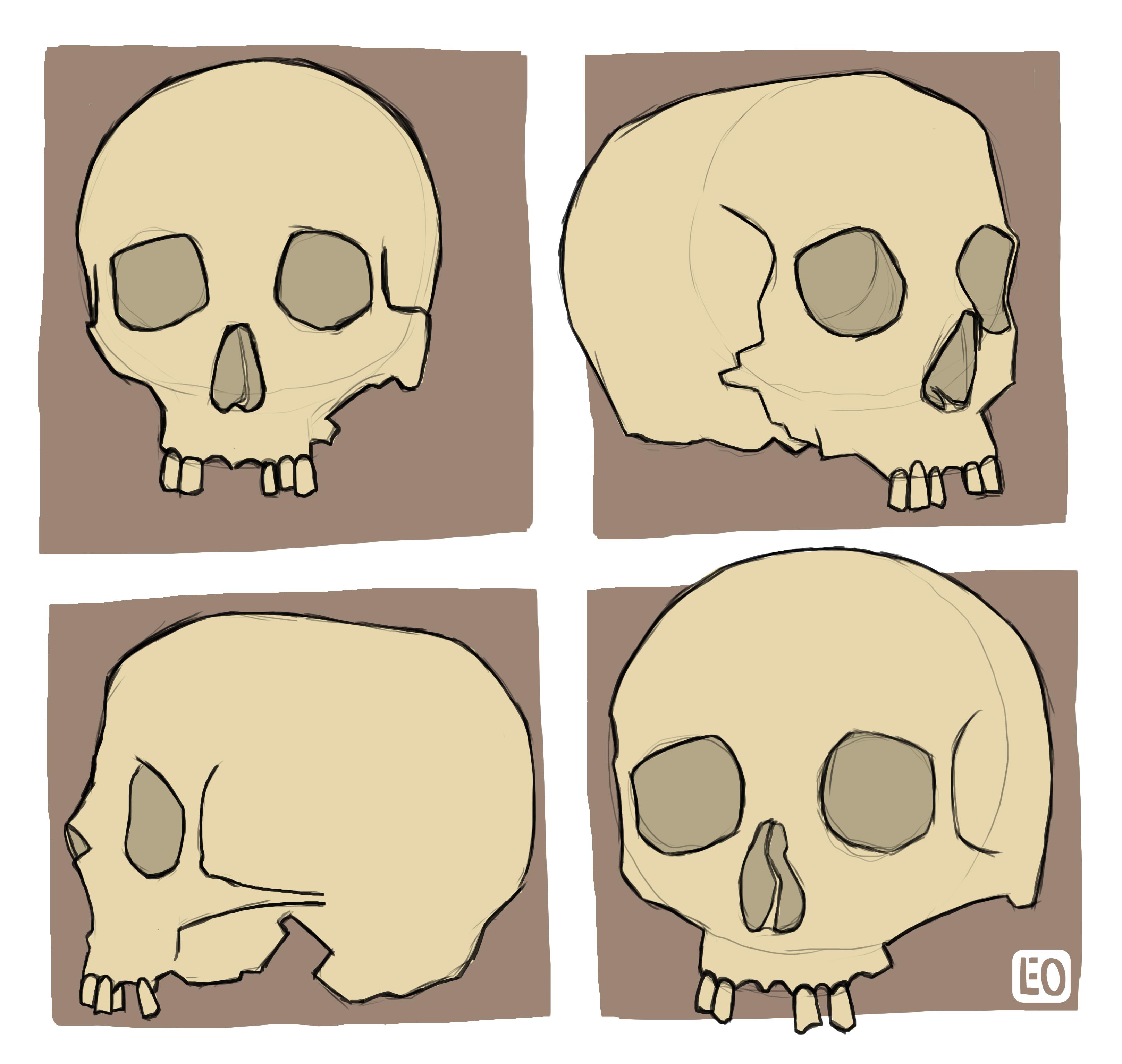 No Jaw Skulls